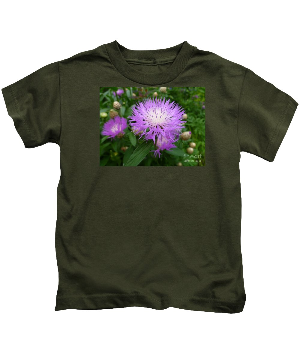 Flower Macro Kids T-Shirt featuring the photograph From Persia With Love by Lingfai Leung