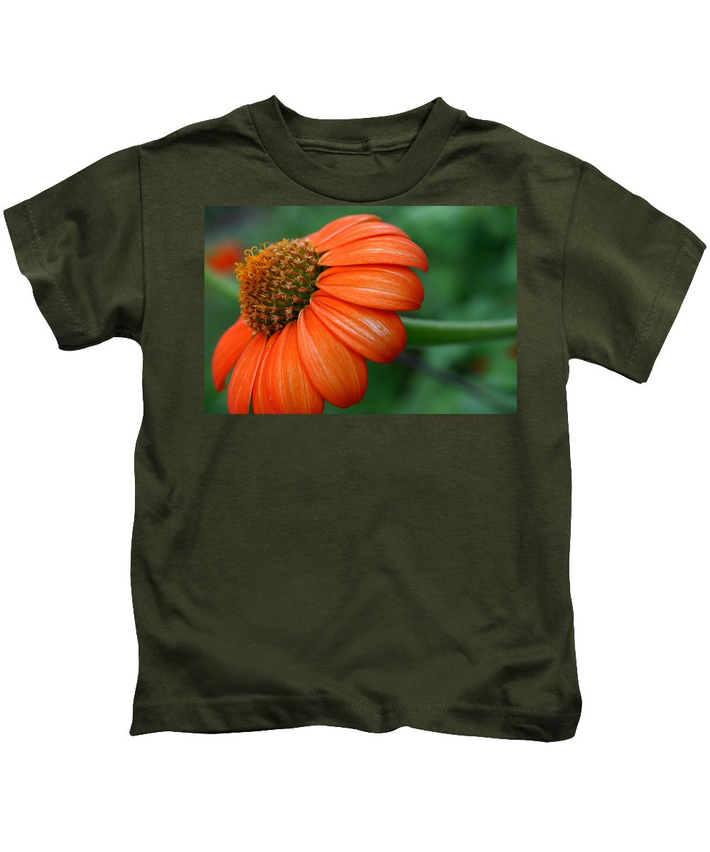 Flower Kids T-Shirt featuring the photograph Garden Passion by Neal Eslinger