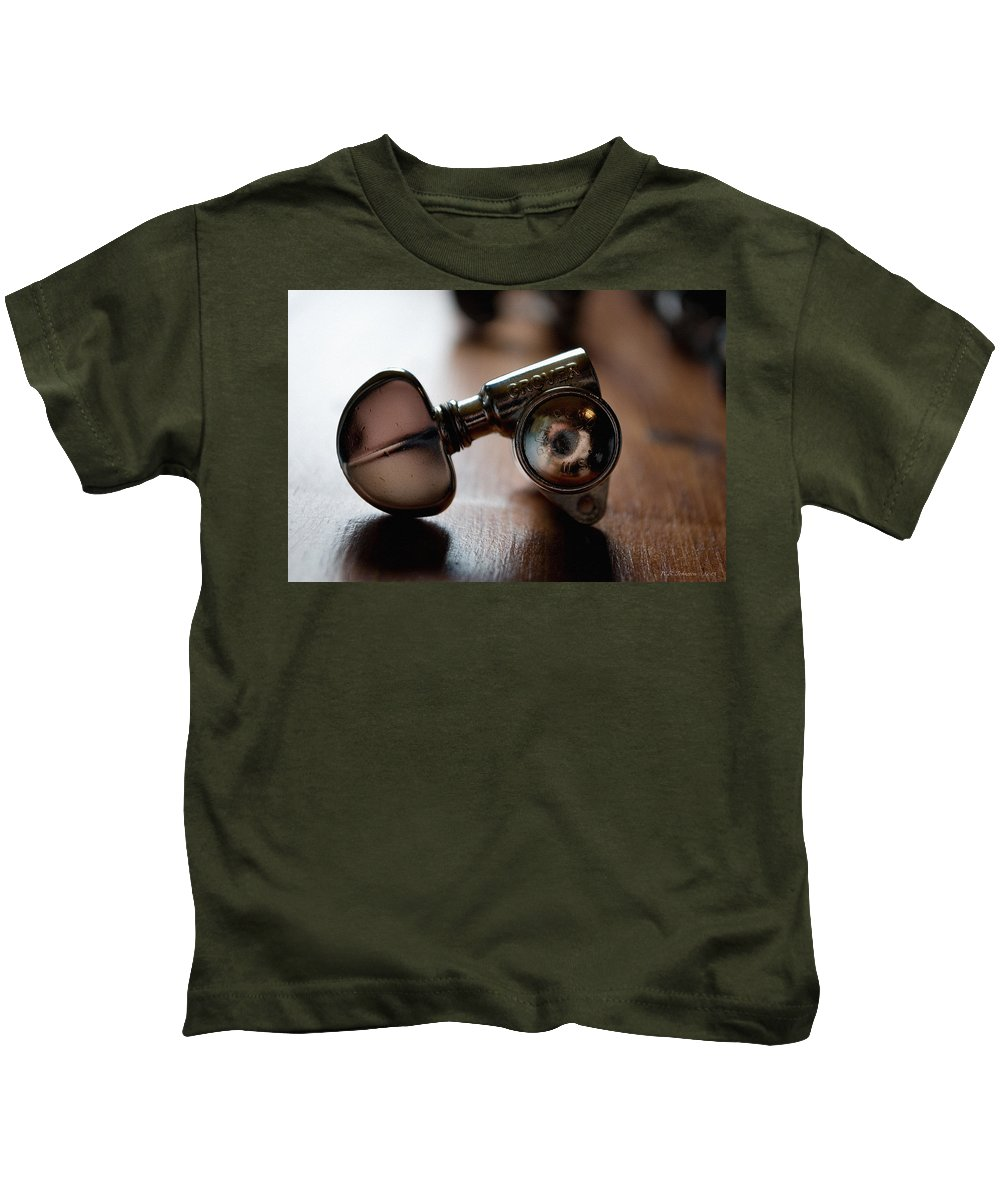 Guitar Kids T-Shirt featuring the photograph Grover by WB Johnston