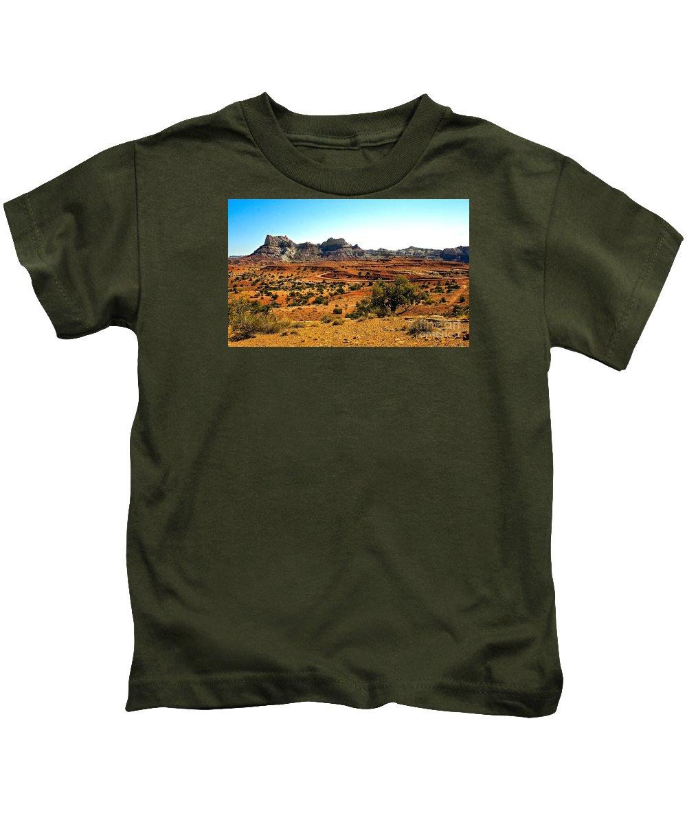 Landscape Kids T-Shirt featuring the photograph High Desert View by Robert Bales
