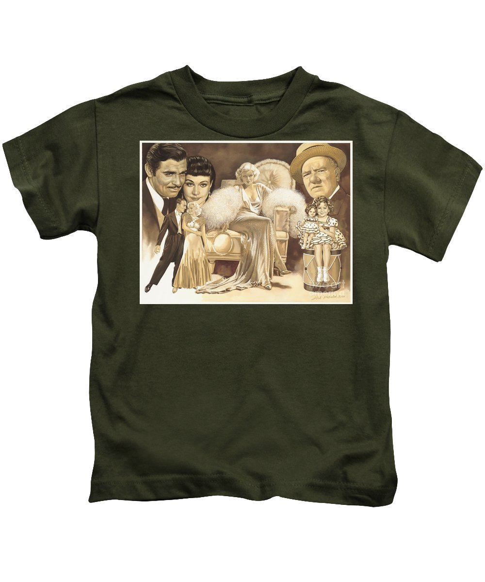 Shirley Temple Kids T-Shirts
