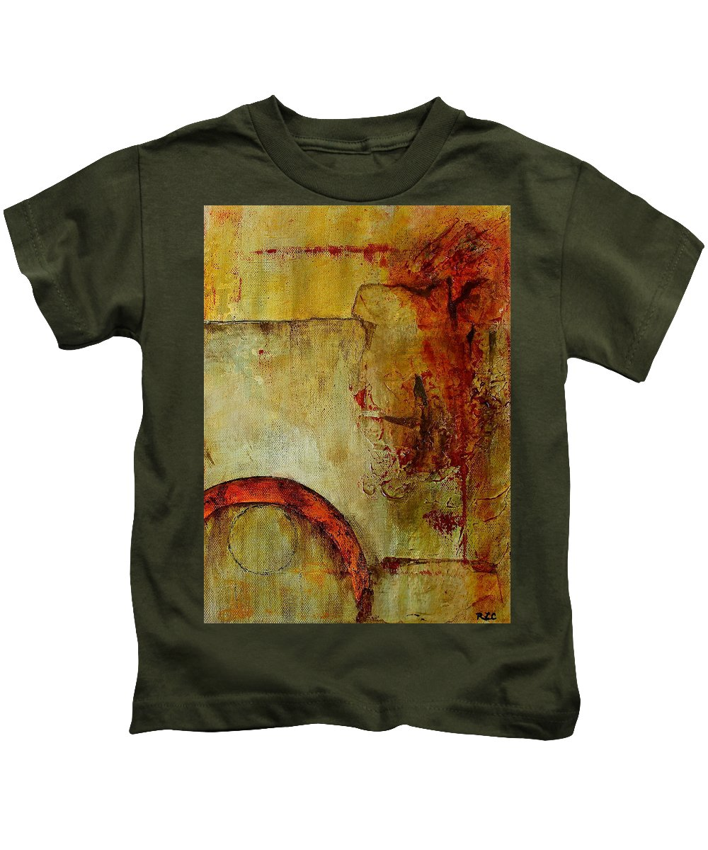 Hope For Tomorrow Kids T-Shirt featuring the painting Hope For Tomorrow by Bellesouth Studio