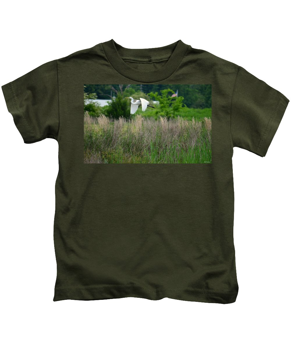 I'm Free Kids T-Shirt featuring the photograph I'm Free by Maria Urso