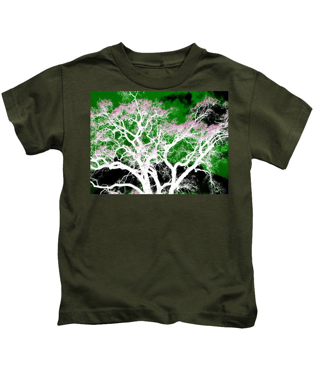 Impressions Kids T-Shirt featuring the digital art Impressions 1 by Will Borden