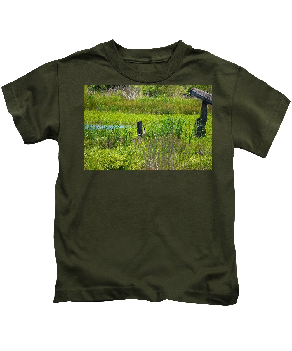 In Secret Places Kids T-Shirt featuring the photograph In Secret Places by Maria Urso