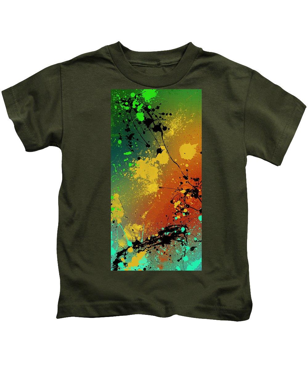 Original Kids T-Shirt featuring the digital art Infinite M Panel #1 by Ryan Burton