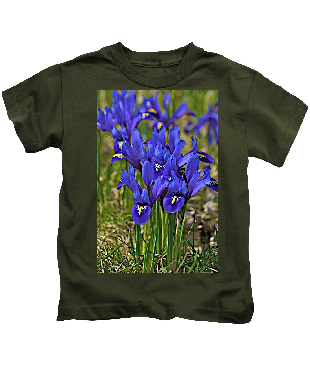 April Kids T-Shirt featuring the photograph Ithaca Spring by Joseph Yarbrough