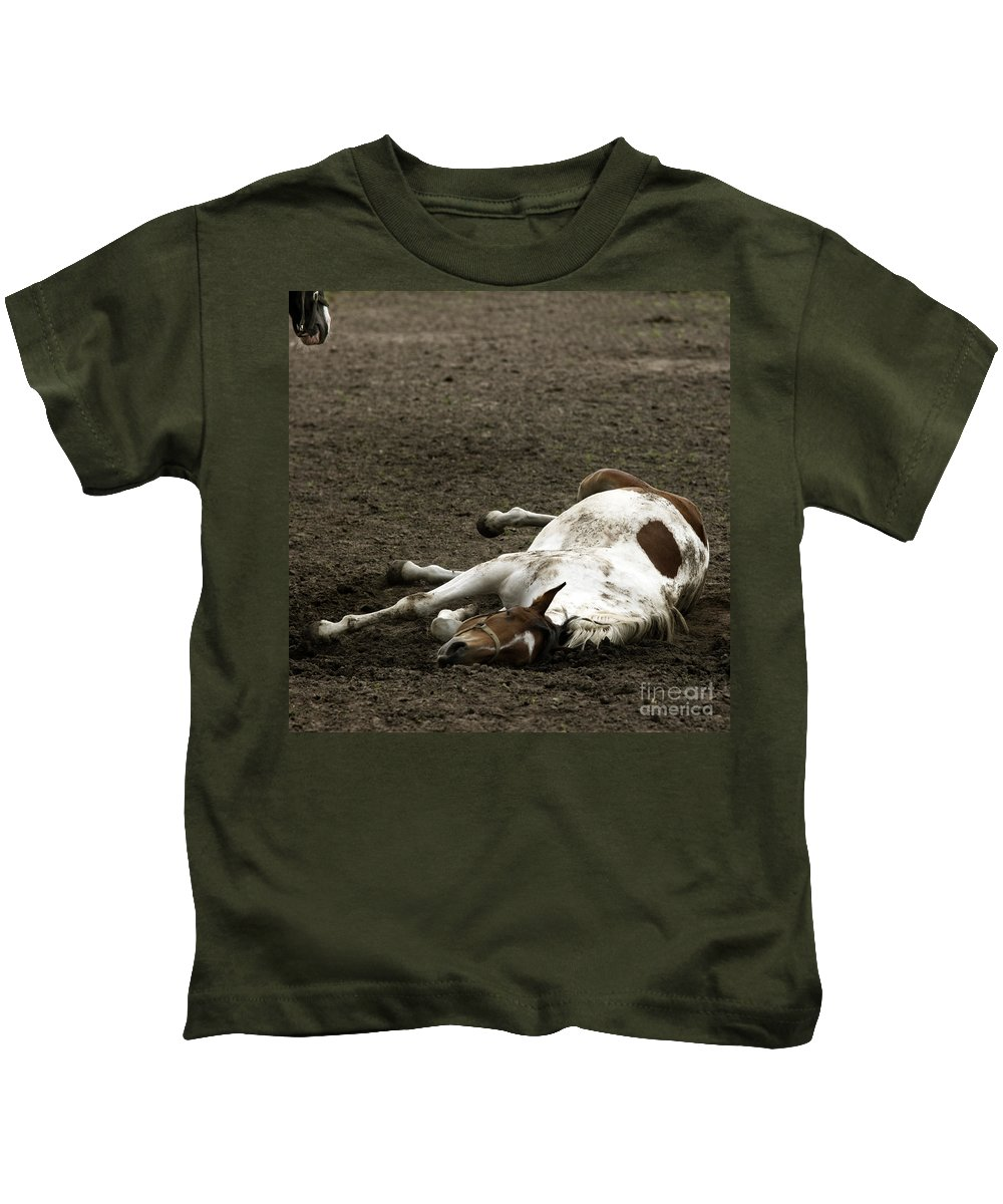 Relax Kids T-Shirt featuring the photograph Just Relax by Angel Tarantella