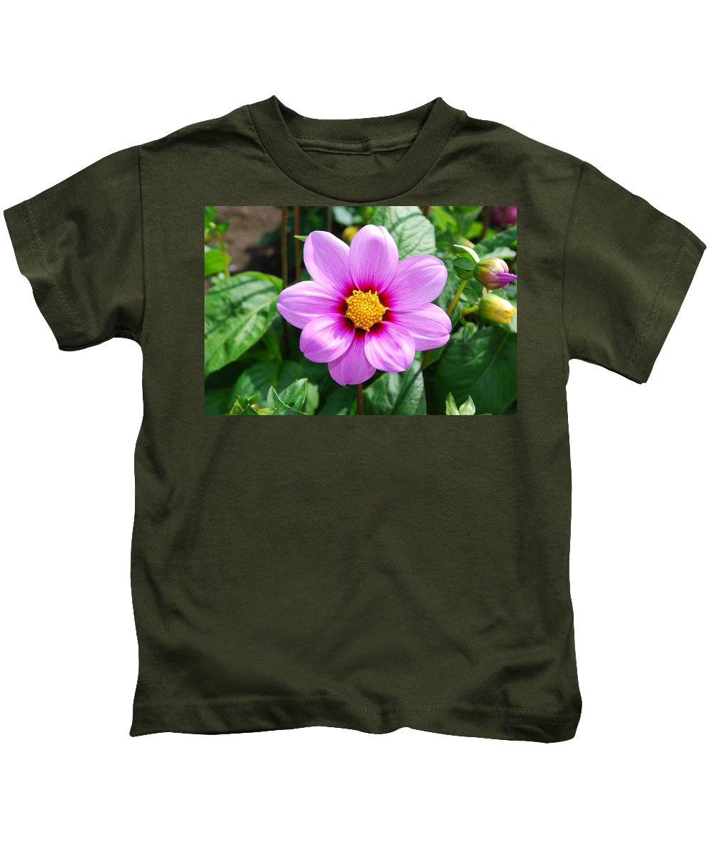 Lavender Kids T-Shirt featuring the photograph Lavender Flower by Bradley Bennett