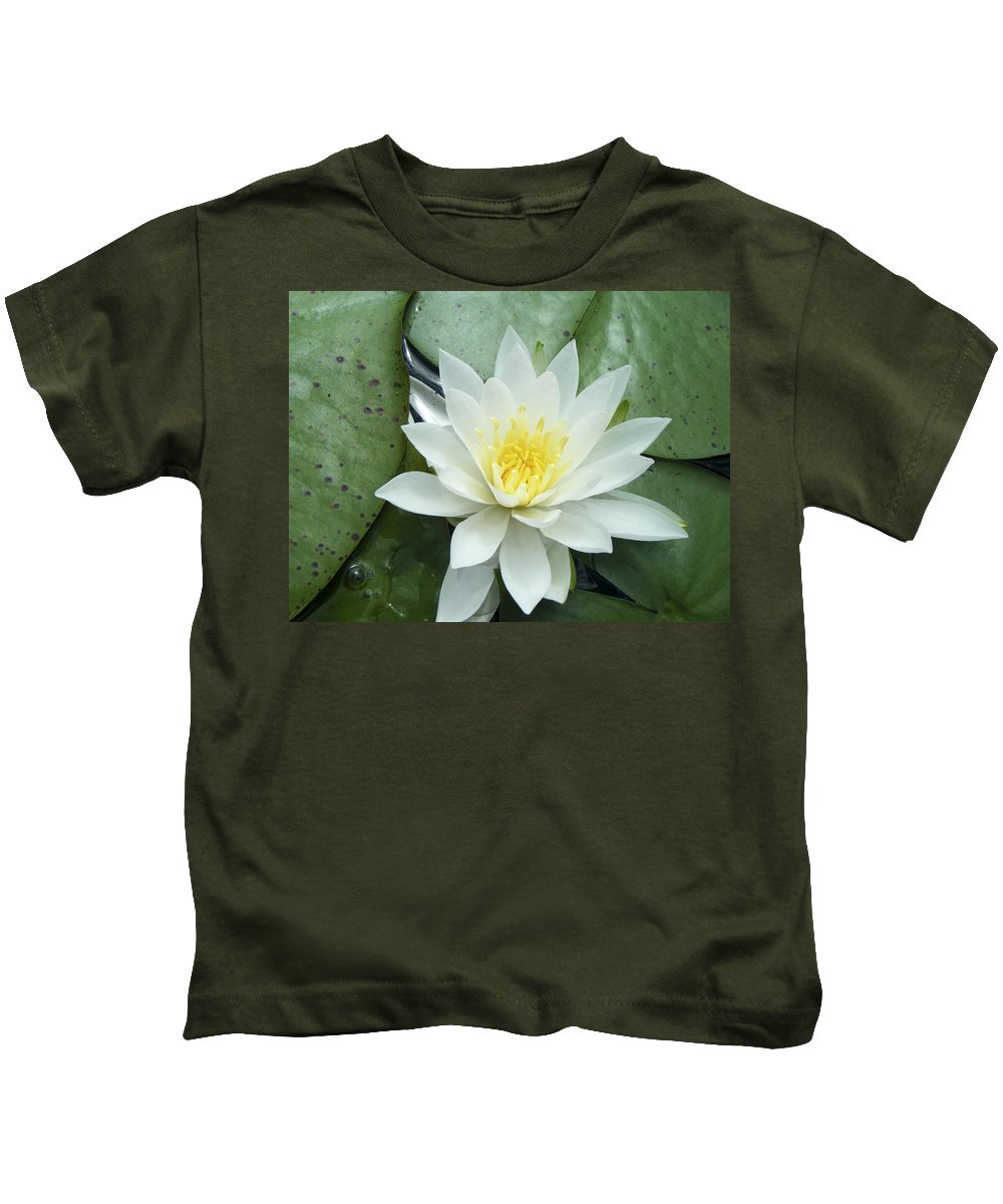 Lilly Kids T-Shirt featuring the photograph Lilly by Tara Lynn