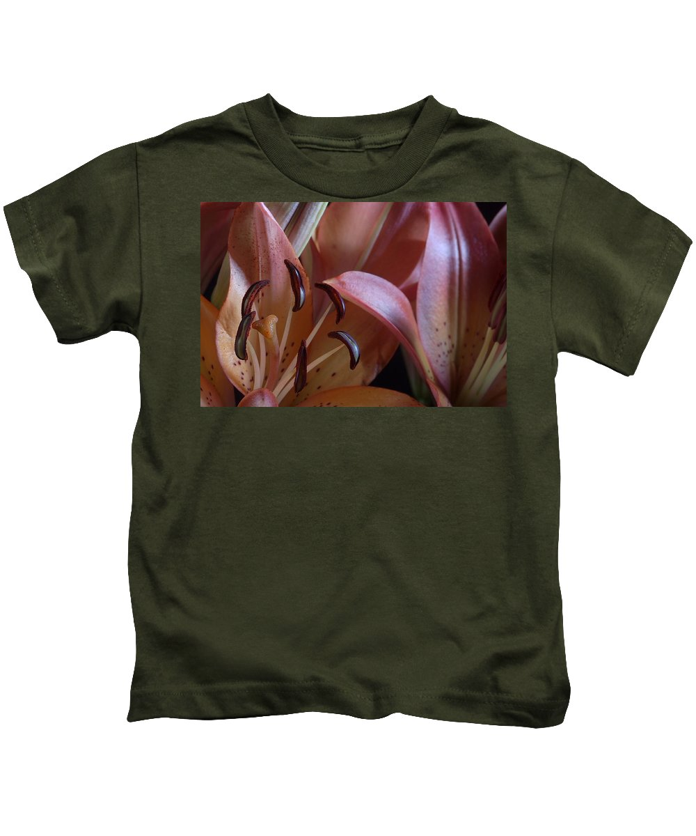 Lily Kids T-Shirt featuring the photograph Lily 5 by Joe Kozlowski
