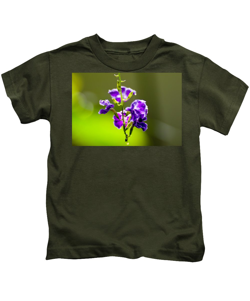 Backlit Kids T-Shirt featuring the photograph Melody by Marcos Lins