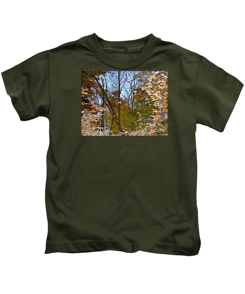 Mirror Kids T-Shirt featuring the photograph Mirror Mirror by Chris Sotiriadis