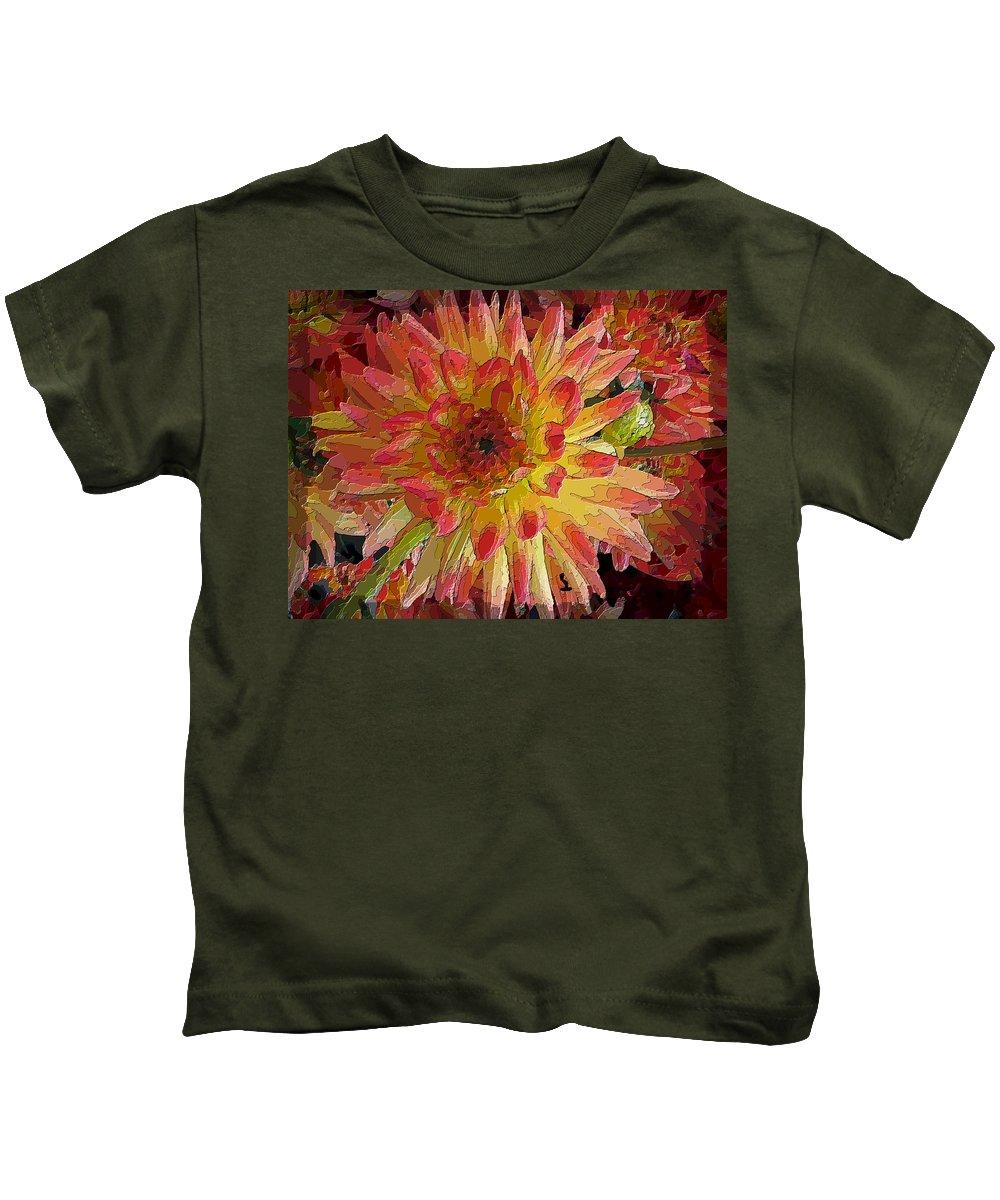 Flower Kids T-Shirt featuring the digital art My Pleasure by Tim Allen