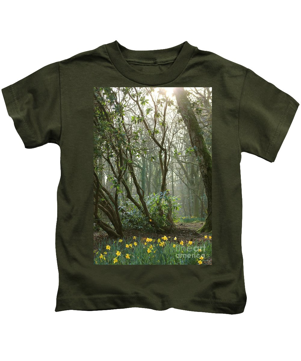 Mythical Kids T-Shirt featuring the photograph Mythical Place by Vicki Spindler