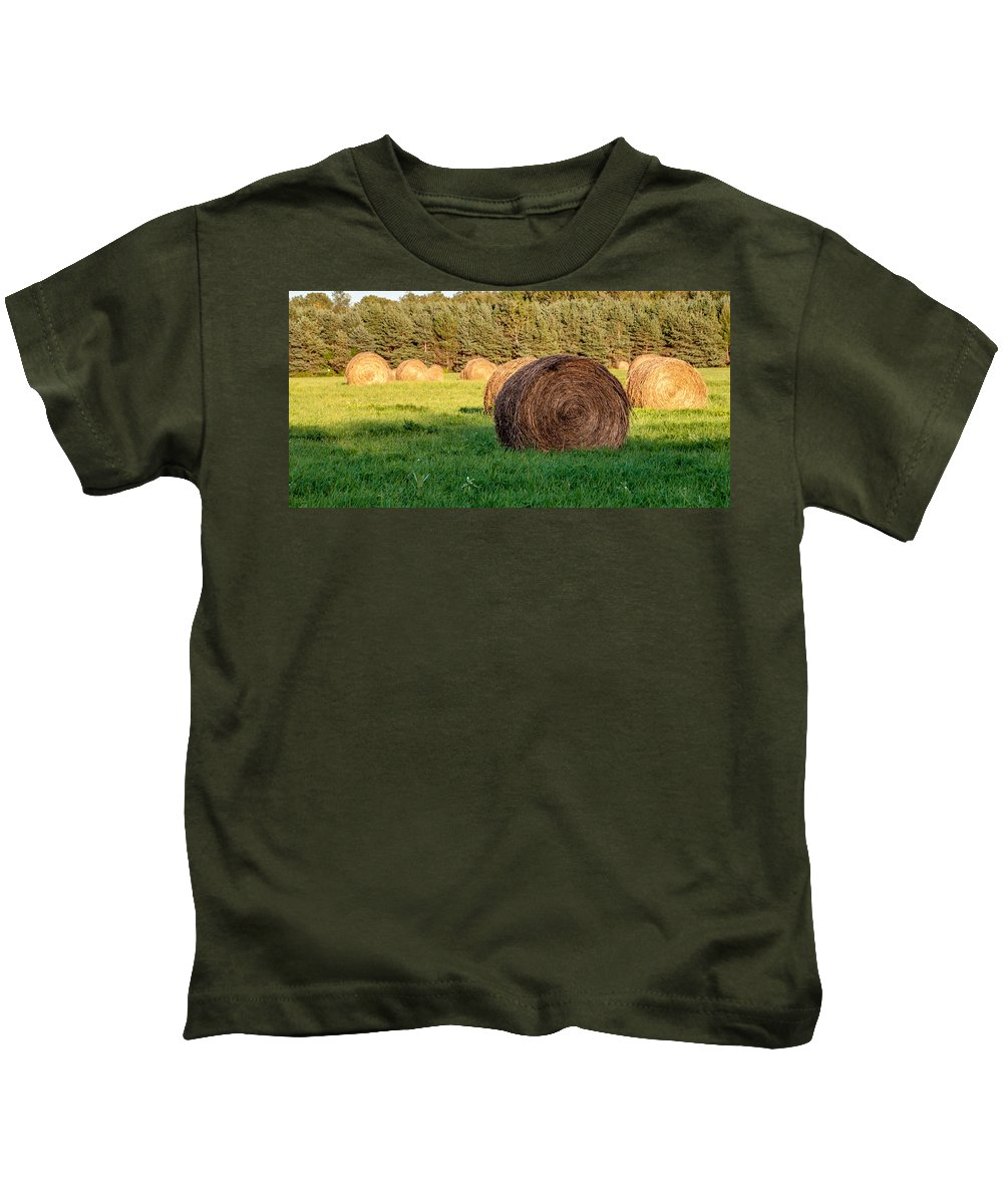 Guy Whiteley Photography Kids T-Shirt featuring the photograph Nearing The Golden Hour 3d21653 by Guy Whiteley
