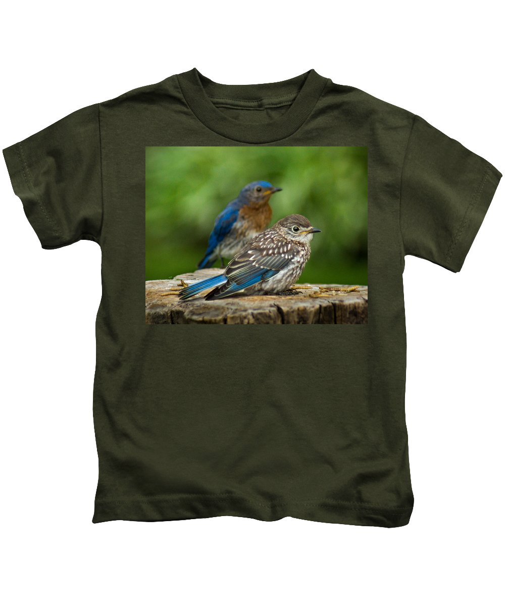 Bird Kids T-Shirt featuring the photograph Next Generation by Bill Pevlor