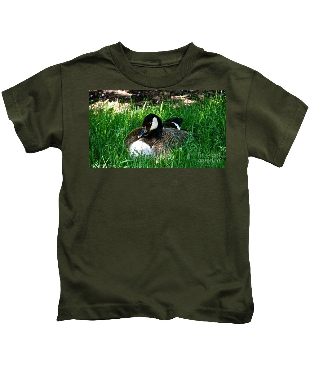 Flower Kids T-Shirt featuring the photograph Noon by Susan Herber