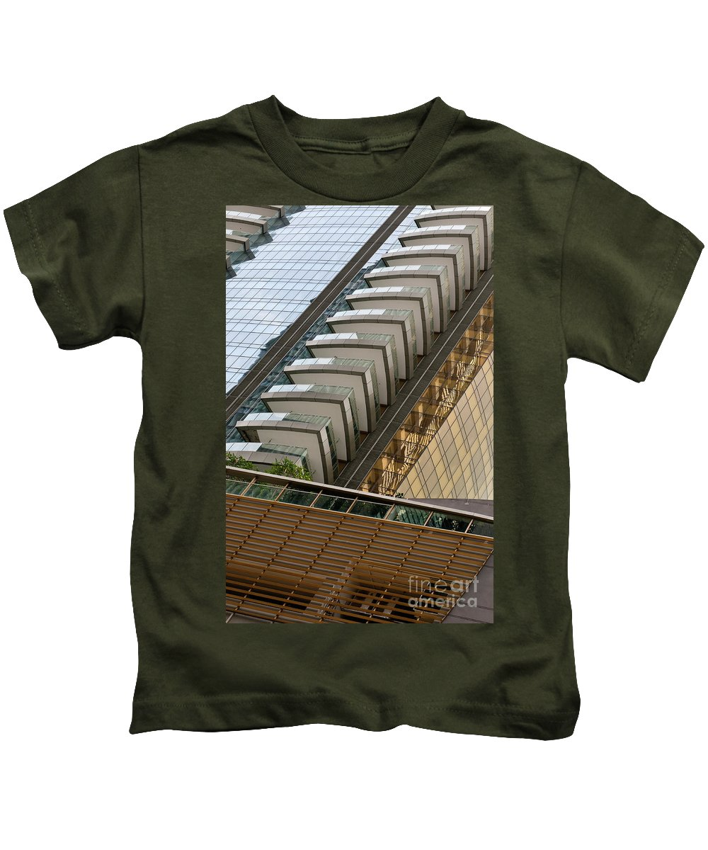 One Shenton Kids T-Shirt featuring the photograph One Shenton 02 by Rick Piper Photography