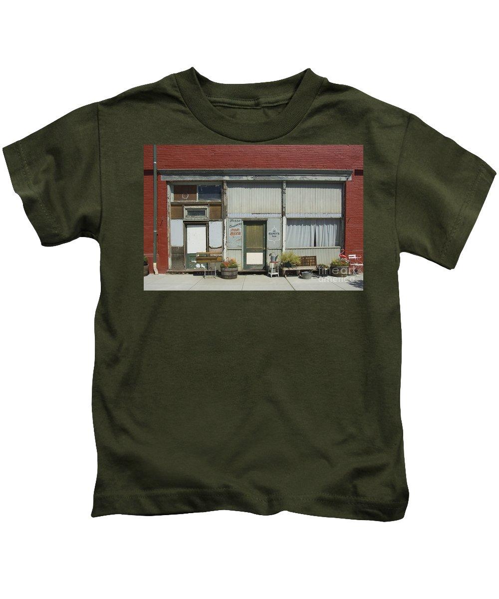 Main Street Kids T-Shirt featuring the photograph Palouse, Washington State by John Shaw