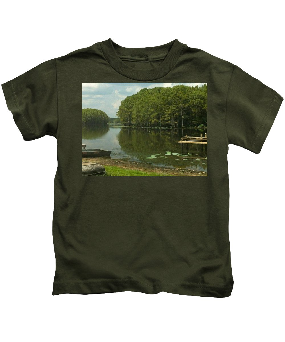 Peace Kids T-Shirt featuring the photograph Peace Of Mind by Marie Brantley