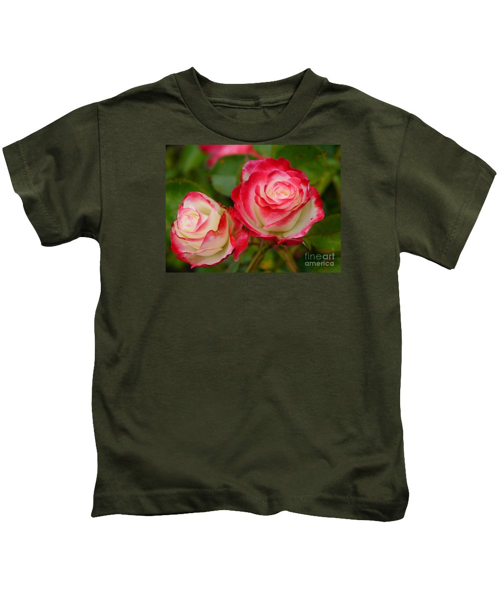 Picasso Rose Kids T-Shirt featuring the photograph Picasso Roses by Christiane Schulze Art And Photography