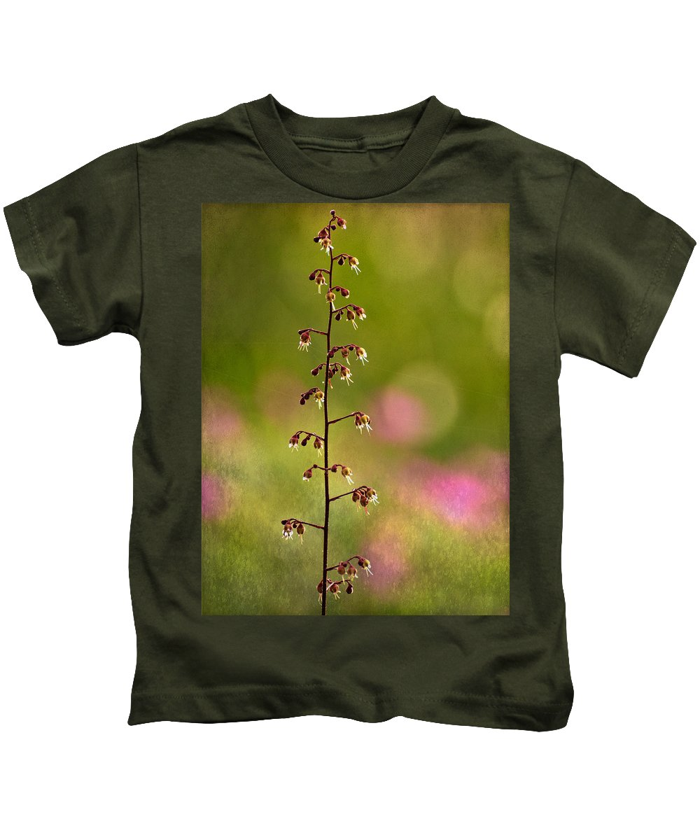 Plum Pudding Plant Kids T-Shirt featuring the photograph Plum Pudding Plant by Mel Hensley
