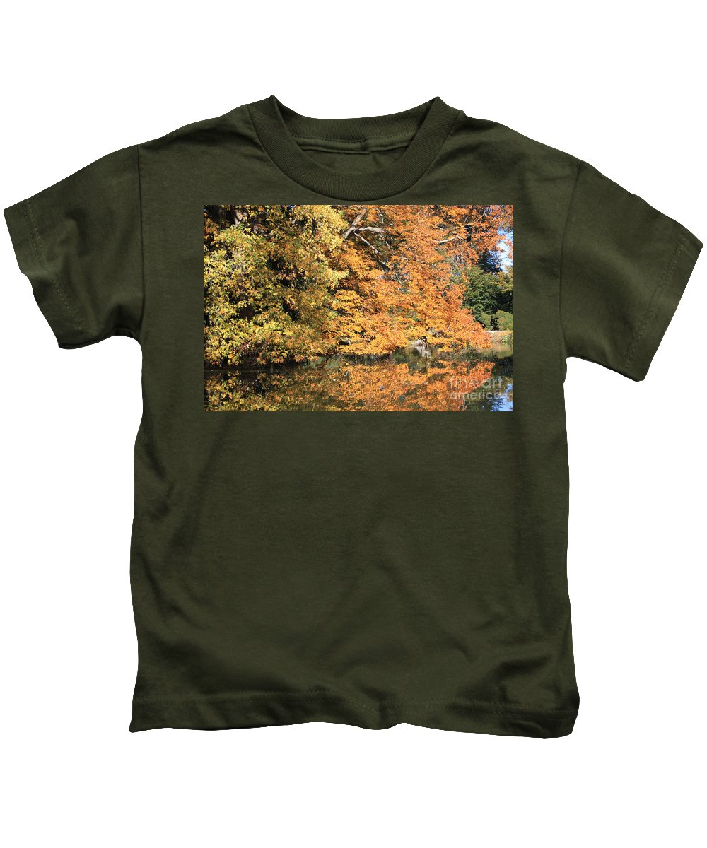 Reflections Ii Kids T-Shirt featuring the photograph Reflections II by John Telfer
