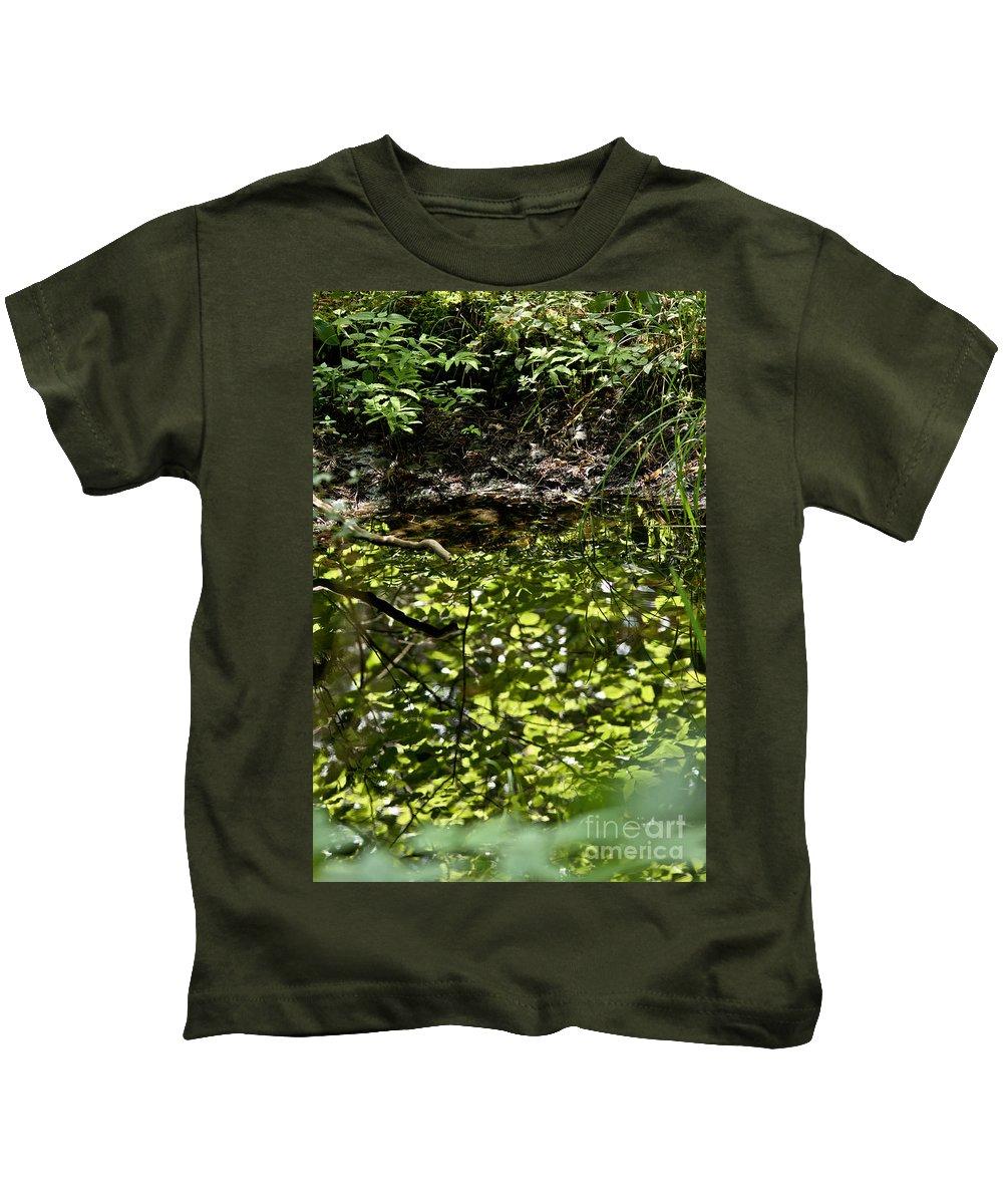 Landscape Kids T-Shirt featuring the photograph Reflective by Cheryl Baxter