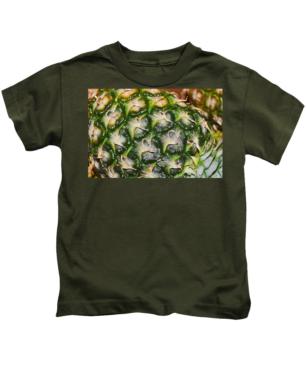 Nature Kids T-Shirt featuring the photograph Ripe And Green by Felicia Tica