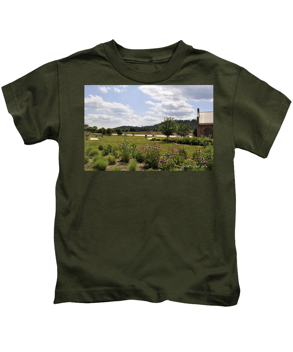 Mountains Kids T-Shirt featuring the photograph Road Trip 2012 #2 by Verana Stark
