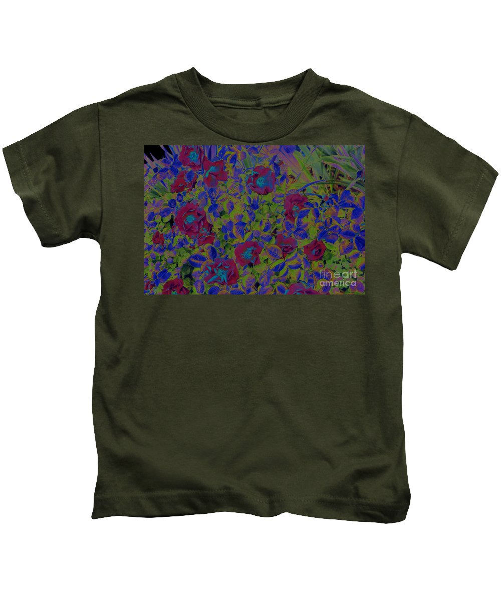 Roses Kids T-Shirt featuring the photograph Roses By Jrr by First Star Art