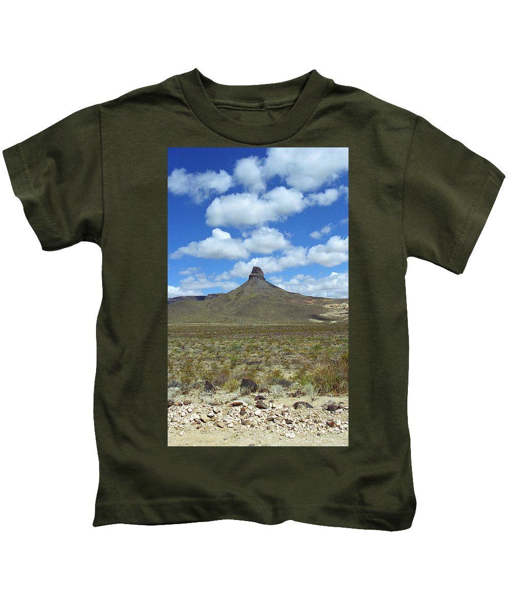 66 Kids T-Shirt featuring the photograph Route 66 - Arizona Mountain by Frank Romeo