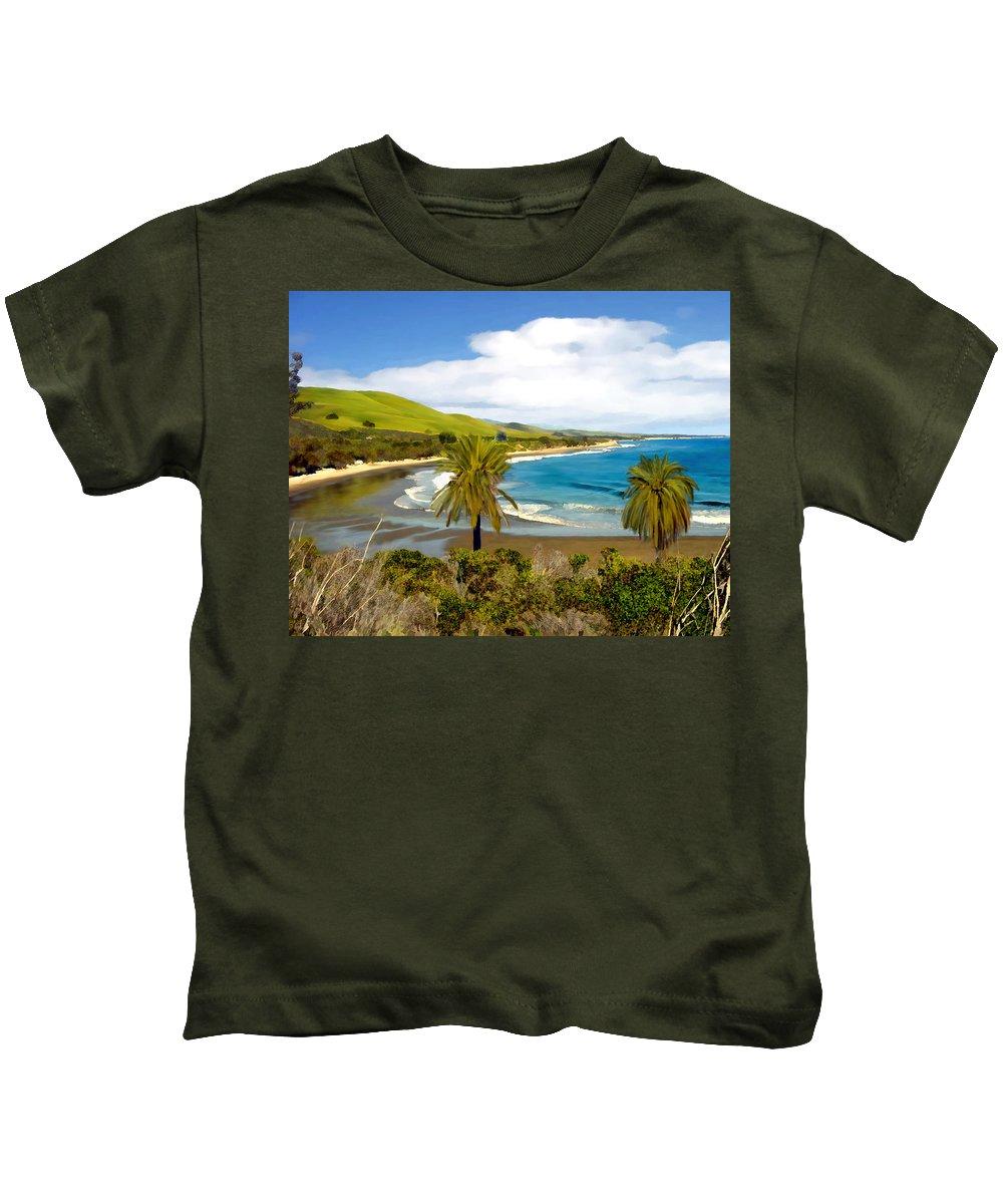 Ocean Kids T-Shirt featuring the photograph Rufugio by Kurt Van Wagner