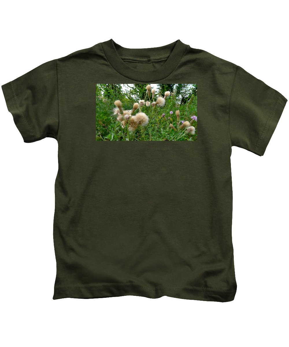 Nature Kids T-Shirt featuring the photograph Soft Nature by Denise Mazzocco