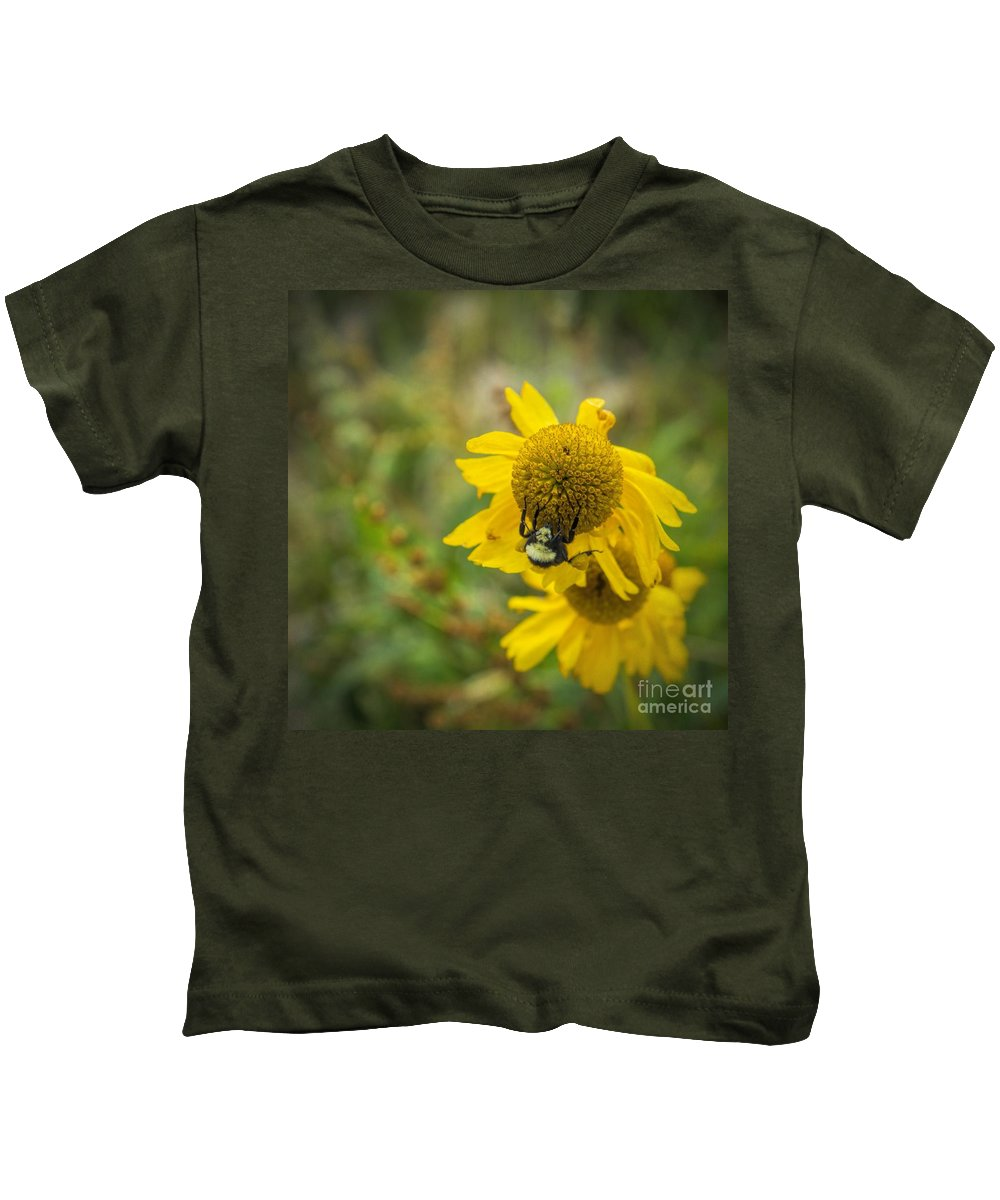 Wild Kids T-Shirt featuring the photograph Something Wild by Peggy Hughes