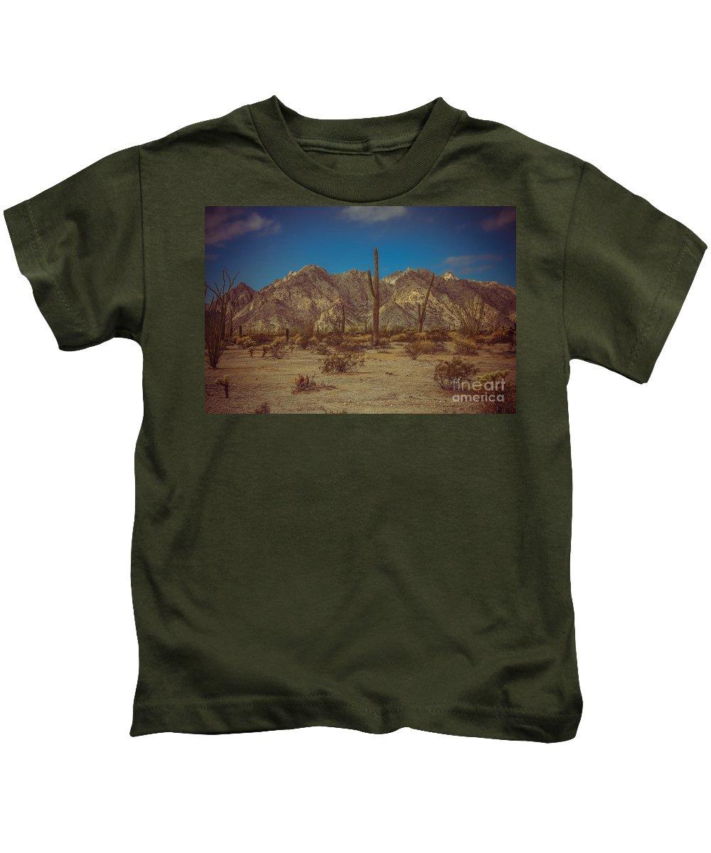 Arizona Kids T-Shirt featuring the photograph Sonoran Desert by Robert Bales