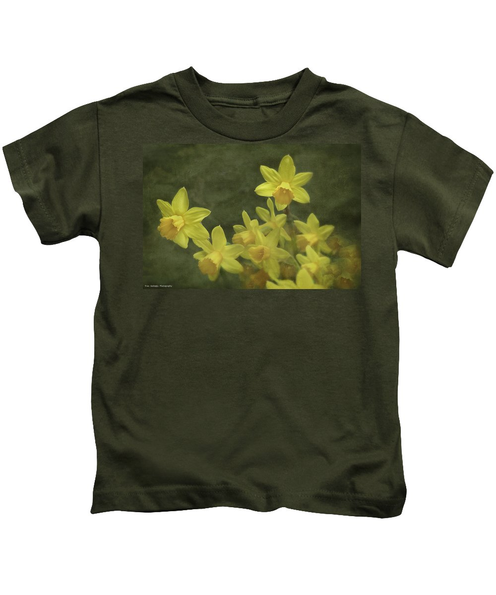 Flowers Kids T-Shirt featuring the photograph Spring Bouquet by Fran Gallogly