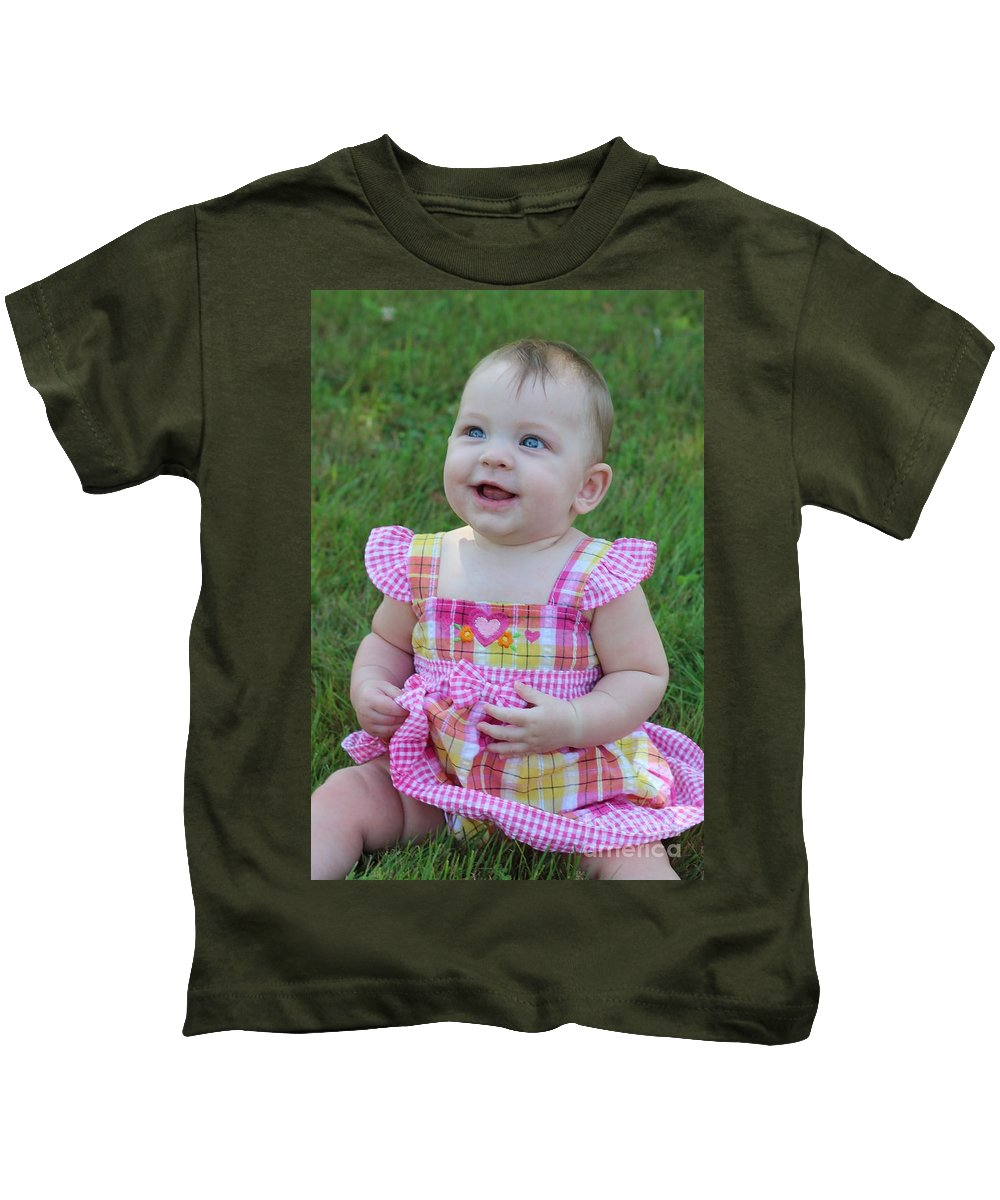 Sarah Kids T-Shirt featuring the photograph Srah_3893 by Joseph Marquis