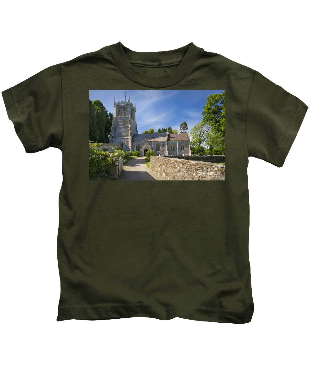 Andrew Kids T-Shirt featuring the photograph St Andrews - Lulworth by Brian Jannsen