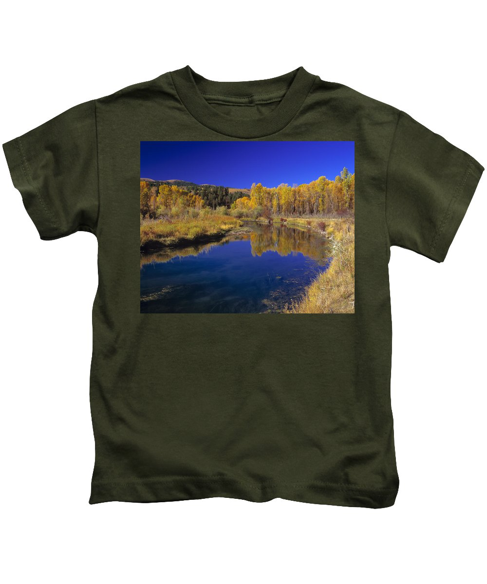 Sunny Day Kids T-Shirt featuring the photograph Sunny Day by Leland D Howard