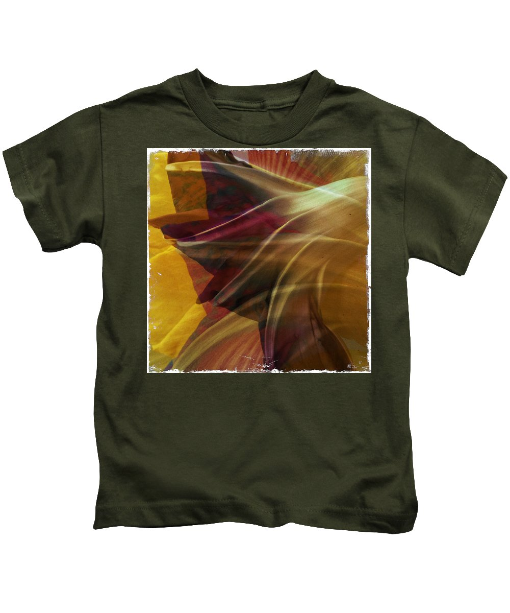 Morning Glory Kids T-Shirt featuring the photograph Swept by Dorian Hill