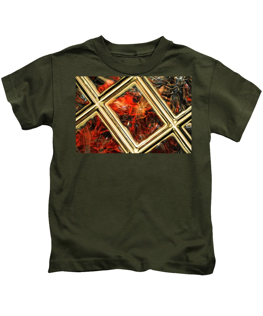Fire Kids T-Shirt featuring the photograph The Fire Within by Frozen in Time Fine Art Photography