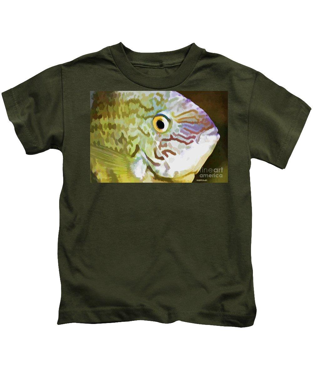 Fish Kids T-Shirt featuring the photograph The Fish by Deborah Benoit