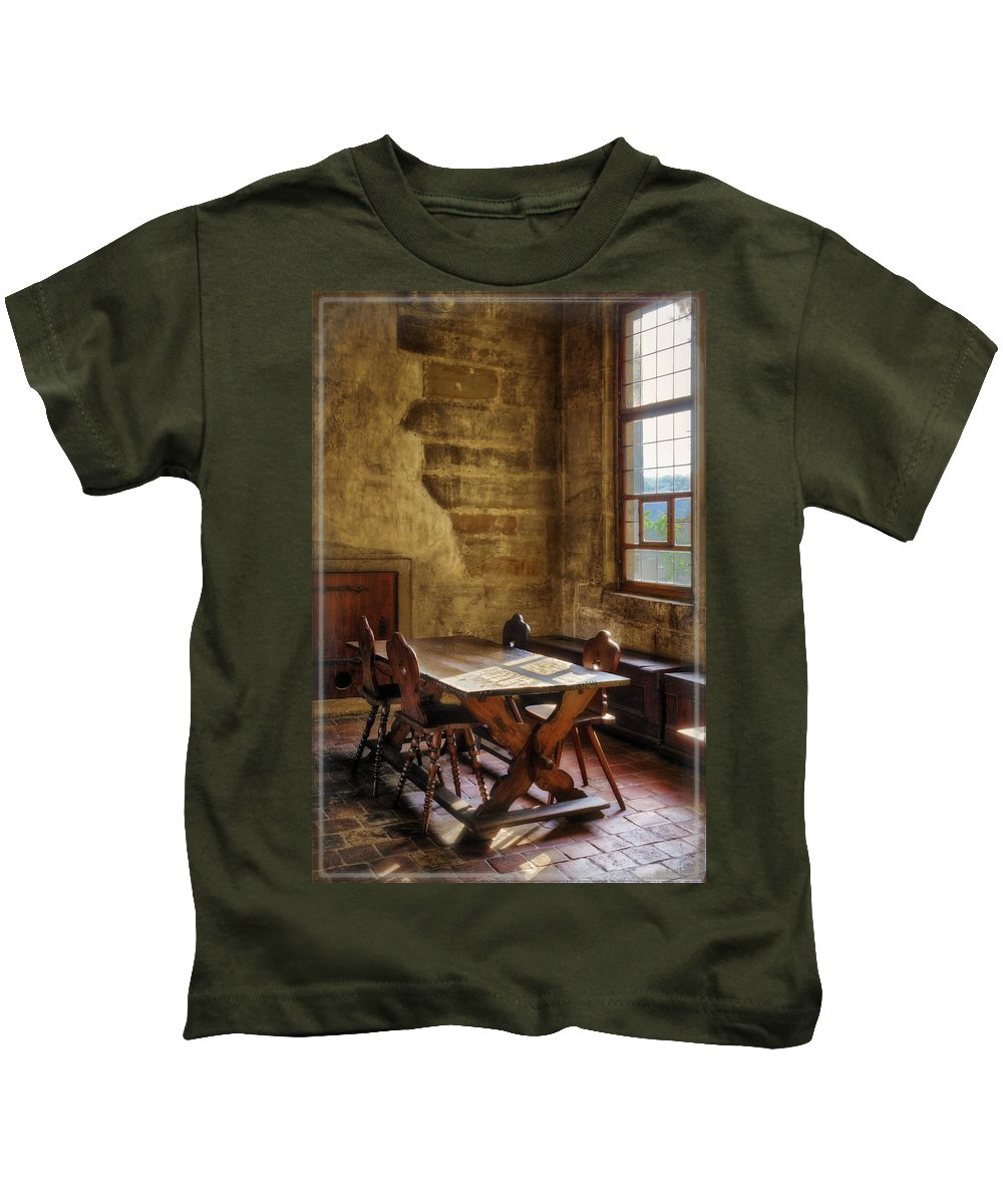 Prague Kids T-Shirt featuring the photograph The Room On The Side by Joan Carroll