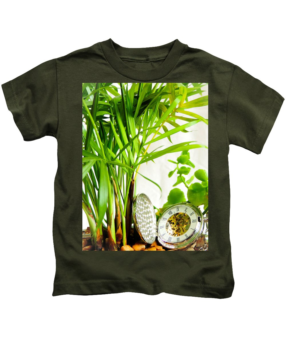 Commitment Kids T-Shirt featuring the photograph Time For Nature by Tracey Beer