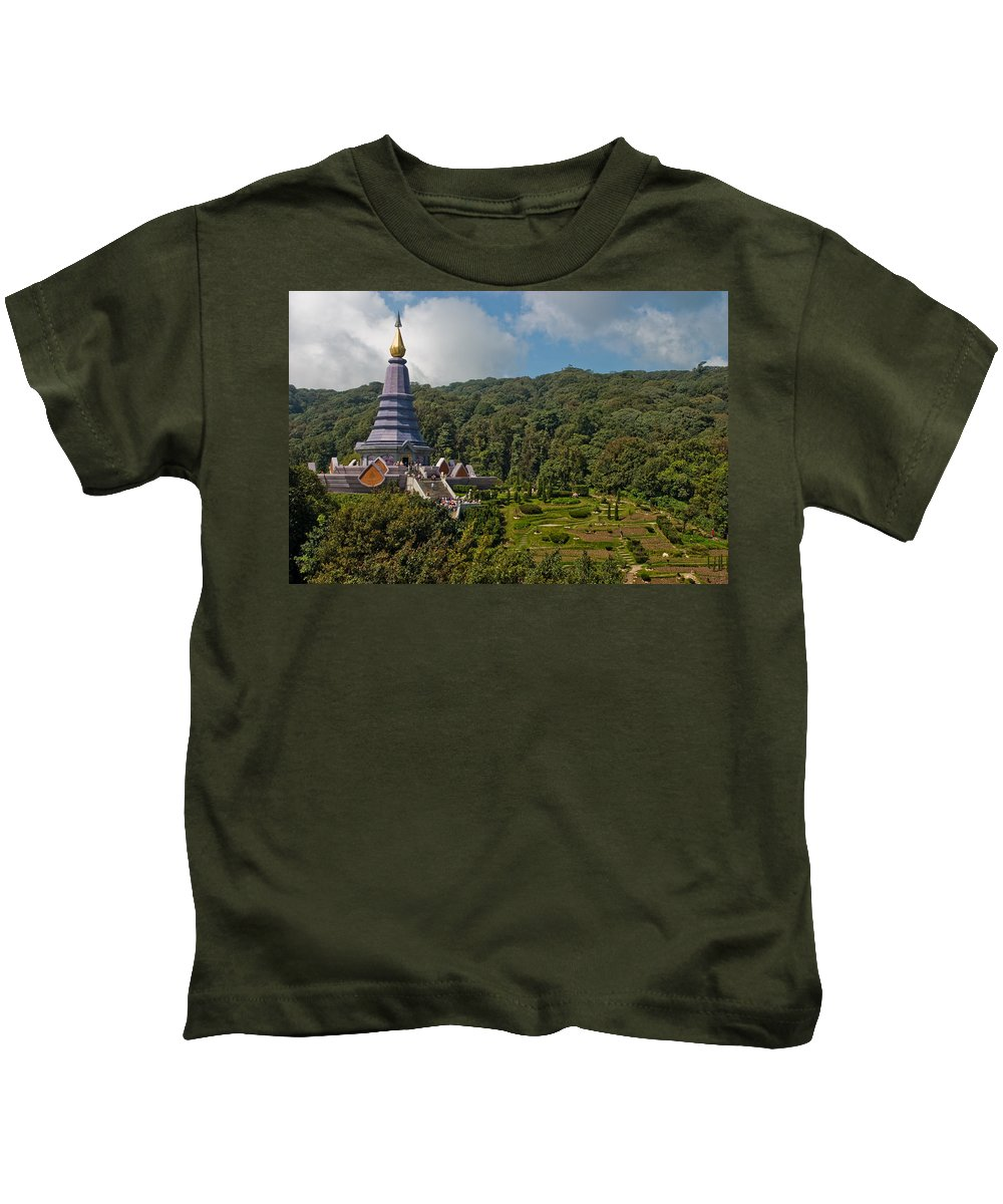 3scape Kids T-Shirt featuring the photograph To The King And Queen by Adam Romanowicz