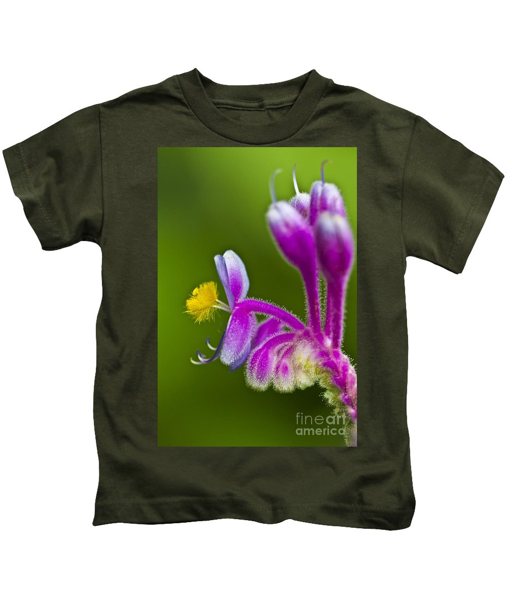 Flower Kids T-Shirt featuring the photograph Tropical Flower Detail by Heiko Koehrer-Wagner