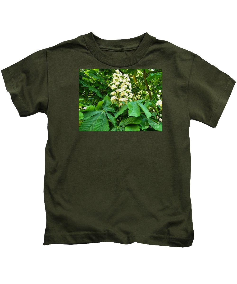 Nature Kids T-Shirt featuring the photograph Two Of Us by Loreta Mickiene