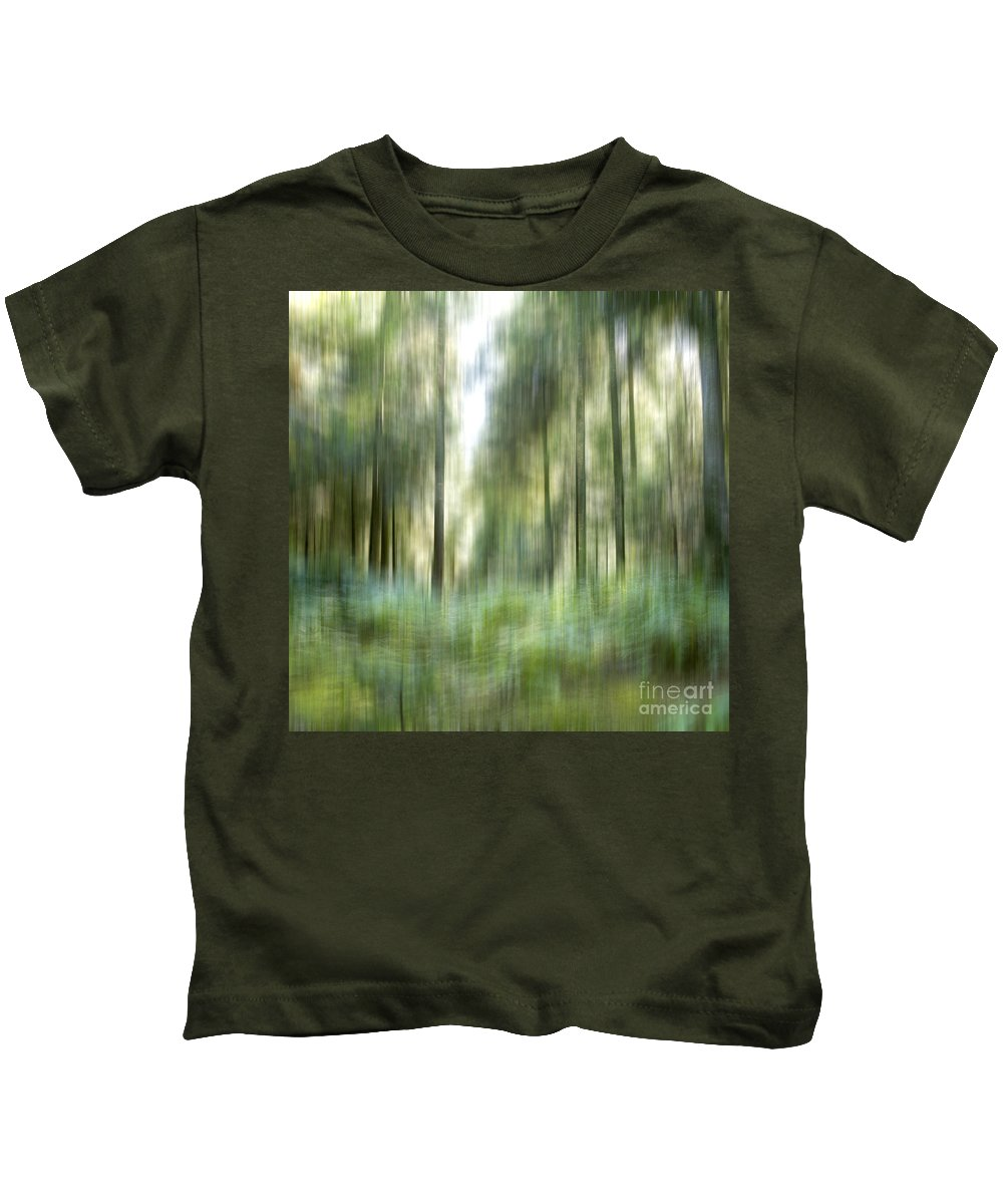 Conifer Kids T-Shirt featuring the photograph Undergrowth In Spring. by Bernard Jaubert